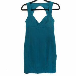 [GUESSBYMARCIANO] 100% SILK chest cut out dress 2